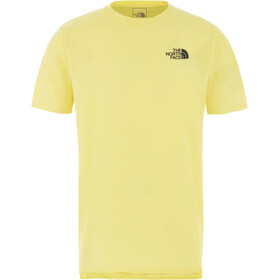 The North Face North Dome Active Kurzarmshirt Herren tnf lemon heather